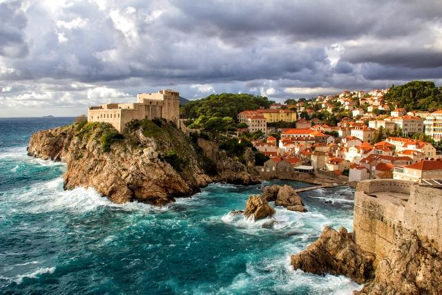 The Croatian capital, Dubrovnik - King's Landing in Game of Thrones.