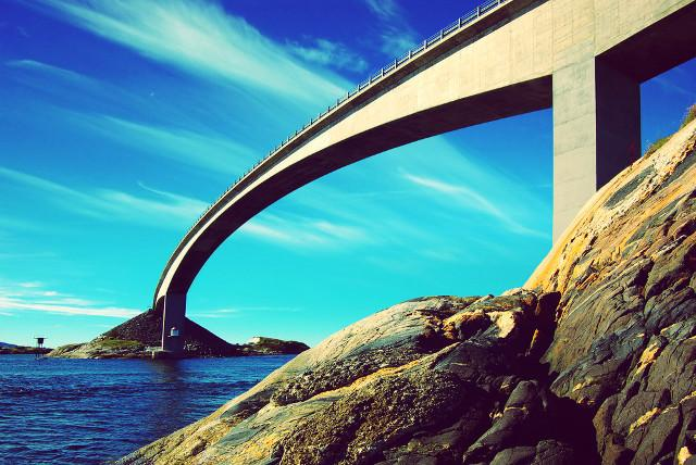 Atlantic Road, Norway, car rental Norway