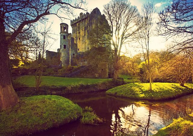 Blarney Castle, Blarney Stone, Summer in Ireland