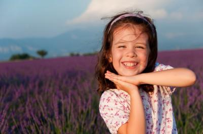 French Lavender With Kid