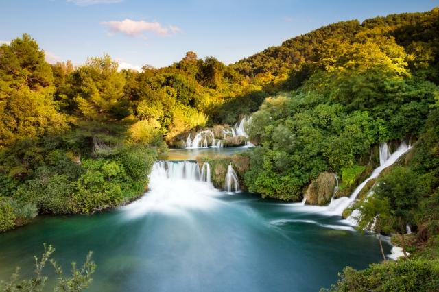 Beautiful Waterfalls - Krka National Park, Croatia