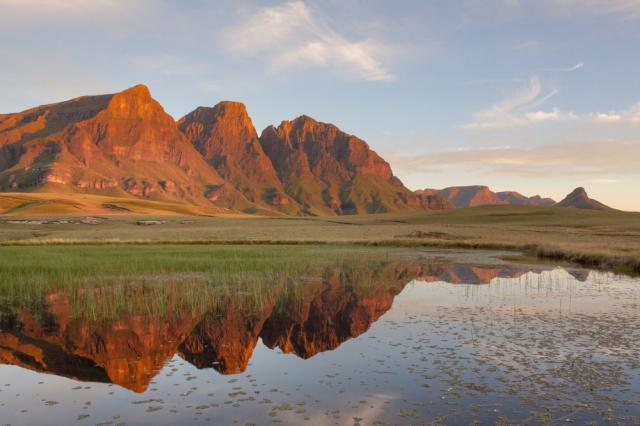 Camping in the Drakensberg Mountains