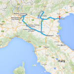 Driving Milan to Venice
