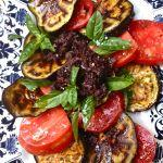 On Rue Tatin Roasted Eggplant & Roma Tomatoes