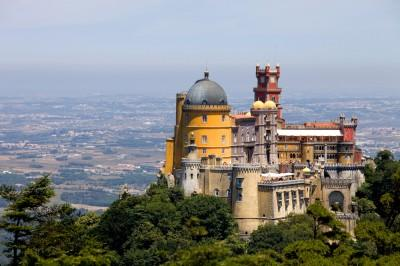 drive to the Palaces of Portugal