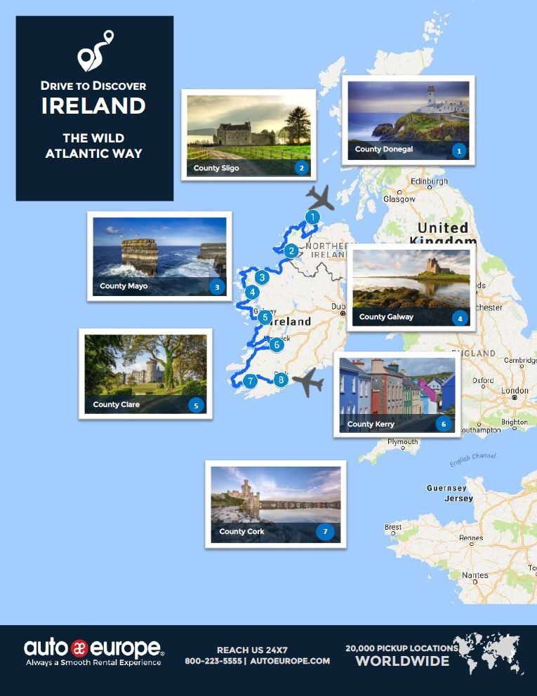 Drive to Discover the Wild Atlantic Way
