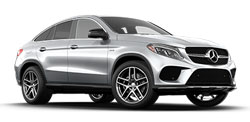 Mercedes GLE Coupe AMG line