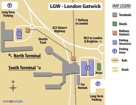 Car Rental Gatwick Airport Save 30 on Rentals in London