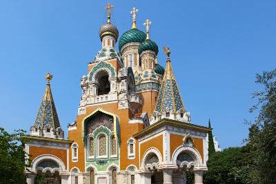 Nice Attractions: Russian Orthodox Cathedral by Auto Europe