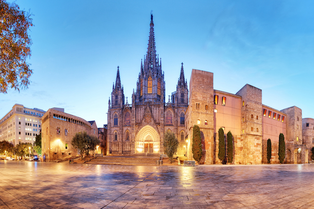Barcelona Gothic Quarter, Spain