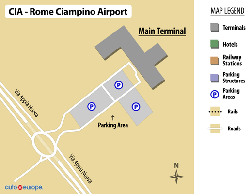 Book Amp Save On Car Rentals In Ciampino Airport Up To 30 Off