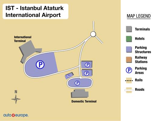 Car Rental Ataturk Airport Save 30 on Rentals in Istanbul