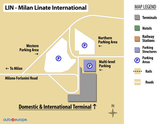 Linate Airport Map