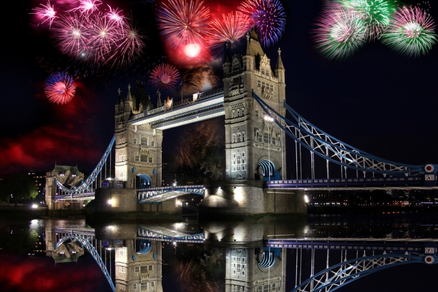 New Year's Eve Fireworks Displays London