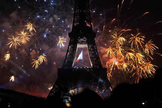 New Year's Eve Fireworks Displays in Paris