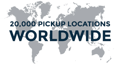 20,000 Locations Worldwide